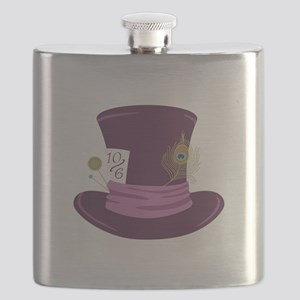 Mad Hatter Hat Flask