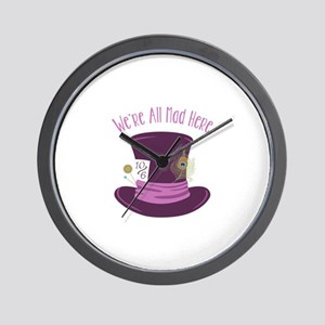 Were All Mad Wall Clock