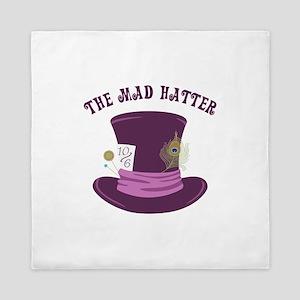 The Mad Hatter Queen Duvet
