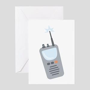 Walkie Talkie Greeting Cards