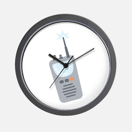 Walkie Talkie Wall Clock