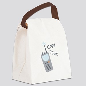 Copy That Canvas Lunch Bag