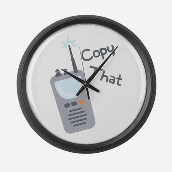 Copy That Large Wall Clock