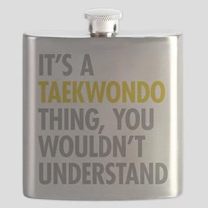 Its A Taekwondo Thing Flask