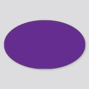 Blue Violet Solid Color Sticker