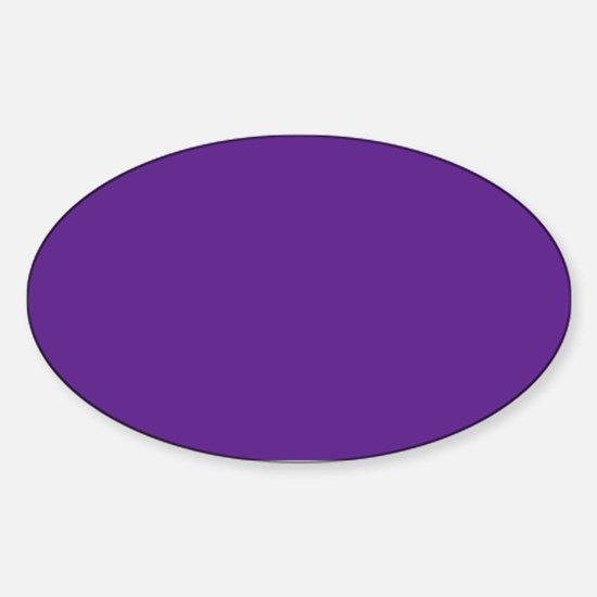 Blue Violet Solid Color Decal