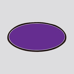 Blue Violet Solid Color Patches