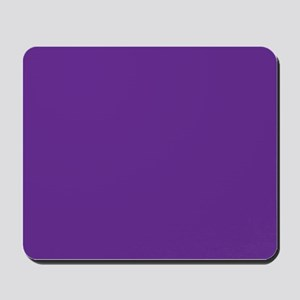Blue Violet Solid Color Mousepad