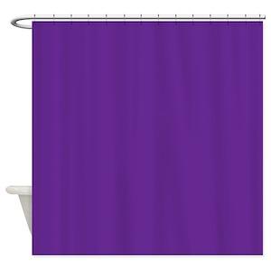 Violet Shower Curtains