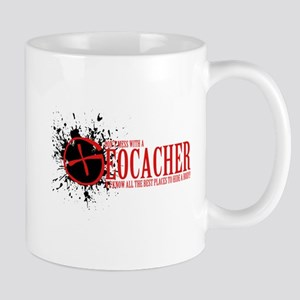 Dont Mess With a Geocacher Mugs