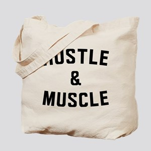 Hustle and Muscle Tote Bag