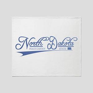 North Dakota State of Mine Throw Blanket