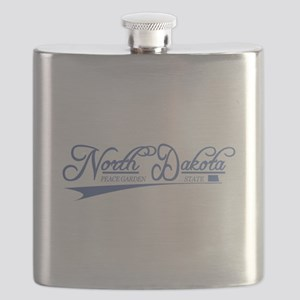North Dakota State of Mine Flask