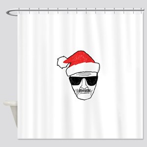 Heisenberg Santa Shower Curtain