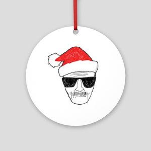 Heisenberg Santa Ornament (Round)