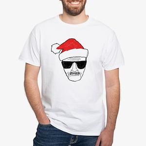 Heisenberg Santa White T-Shirt