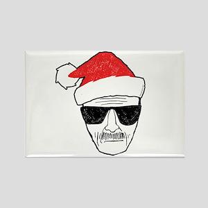 Heisenberg Santa Rectangle Magnet
