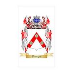 Giesges Sticker (Rectangle 50 pk)