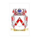 Gieselmann Sticker (Rectangle 50 pk)