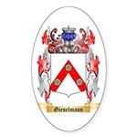 Gieselmann Sticker (Oval 50 pk)