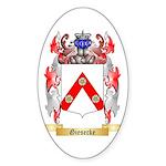 Giesecke Sticker (Oval 10 pk)