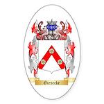 Giesecke Sticker (Oval 50 pk)