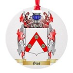 Gies Round Ornament