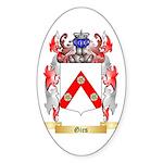 Gies Sticker (Oval 50 pk)