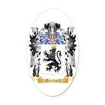 Gierhard Oval Car Magnet