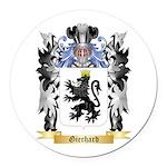 Gierhard Round Car Magnet