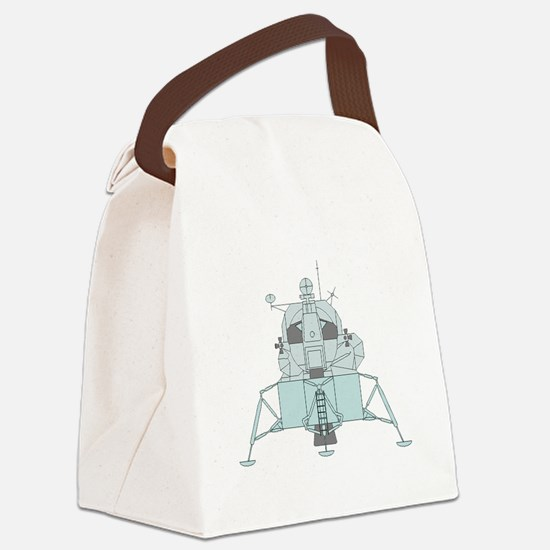 Lunar Module Canvas Lunch Bag