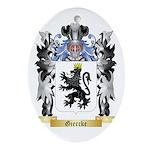 Giercke Ornament (Oval)