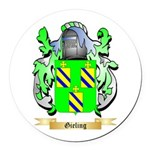 Gieling Round Car Magnet