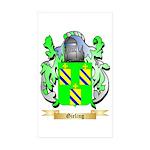 Gieling Sticker (Rectangle 10 pk)