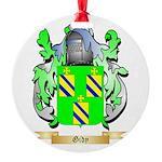 Gidy Round Ornament