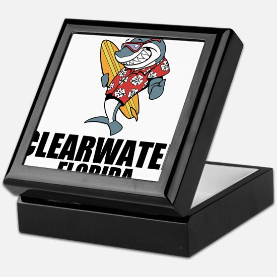 Clearwater, Florida Keepsake Box