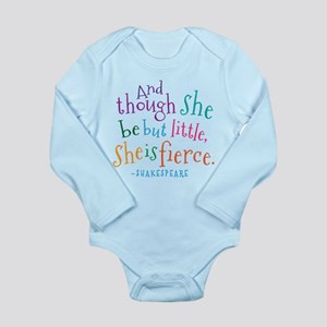 Shakespeare She Is Fierce quote Body Suit