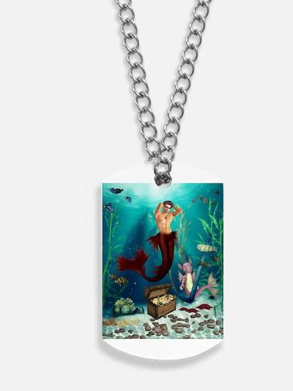 Best Seller Merrow Mermaid Dog Tags