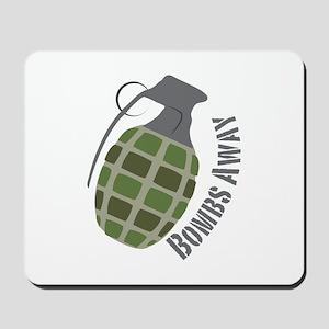 Bombs Away Mousepad