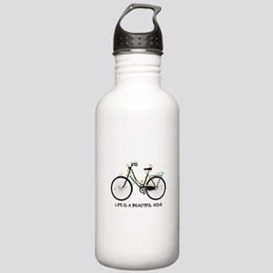 Life is a beautiful ride Water Bottle