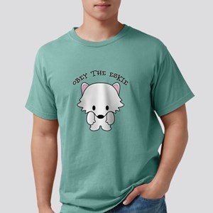 American Eskimo Dog Eski Mens Comfort Colors Shirt