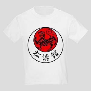 Rising Sun Tiger & Shotokan Kan Kids Light T-Shirt