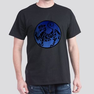 Shotokan Tiger on Dark Sky Dark T-Shirt