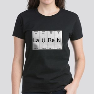 Lauren periodic table of elements T-Shirt
