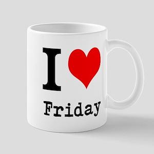 I Love Friday Mugs