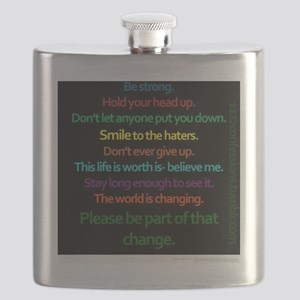 Positive Quotes Flask