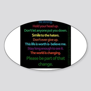 Positive Quotes Sticker
