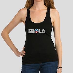 Obama Ebola Racerback Tank Top