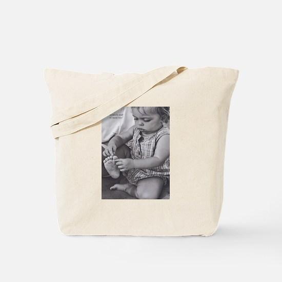 camara sandyToes Tote Bag