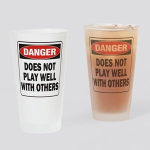 Play Well Drinking Glass